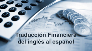 Financial Translation from English to Spanish