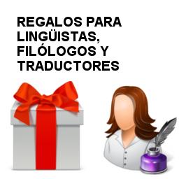 regalos para lingüistas, filólogos y traductores