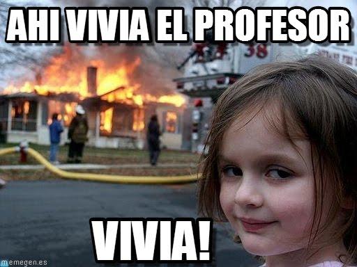 memes profesores