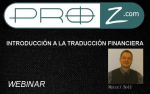 Introducción a la traducción financiera