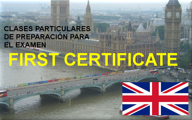 First Certificate - Clases particulares