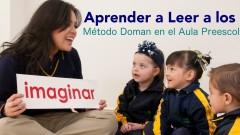 aprender a leer a los 3 Método Doman en preescolar