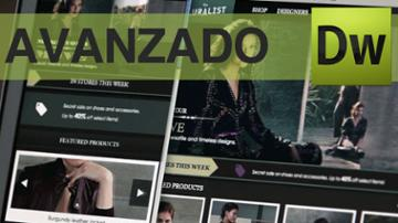 Crea tu tienda online con Dreamweaver, nivel Avanzado