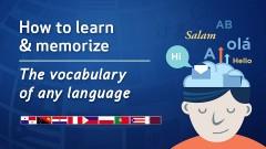 Cómo aprender y memorizar el vocabulario de cualquier idioma