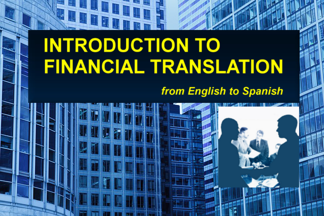 Introduction to Financial Translation