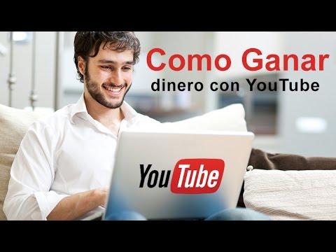 Gana dinero en Youtube