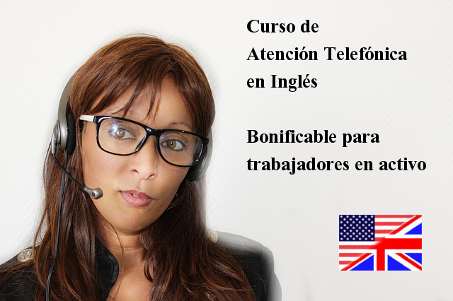 curso presencial de atención telefónica en inglés y videoconferencias en inglés